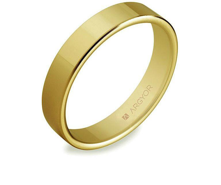 Sortija Argyor de oro amarillo.