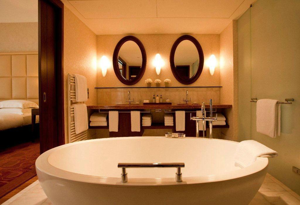 Beispiel: Park Executive Suite - Badezimmer, Foto: Park Hyatt Zürich Hotel.