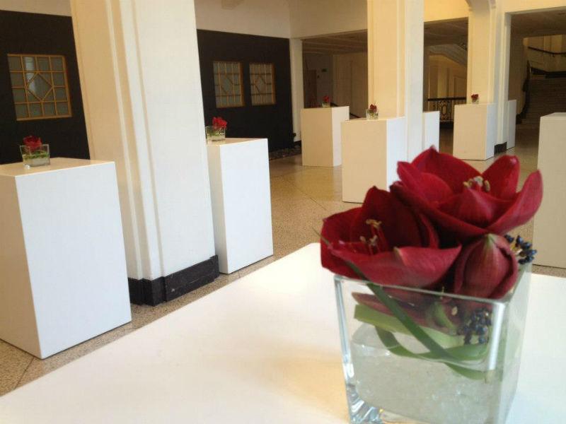 Beispiel: Florale Gestaltung Ihrer Hochzeitsfeier, Foto: Puls Floristik.