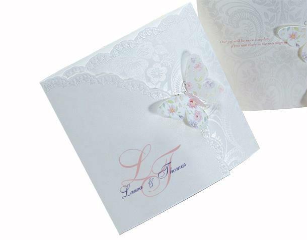 Beispiel: Ihre Einladung zur Hochzeit, Foto: Kartenzia.