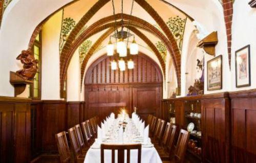 Beispiel: Lutherzimmer im Restaurant Historische Weinstuben, Foto: Auerbachs Keller.