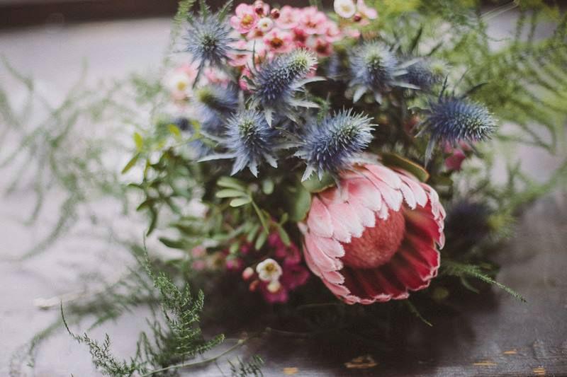 Beispiel: Brautstrauß, Foto: Blumen Stieber.