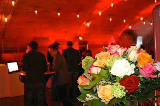 Beispiel: Blumendekoration, Foto: Richterkeller.