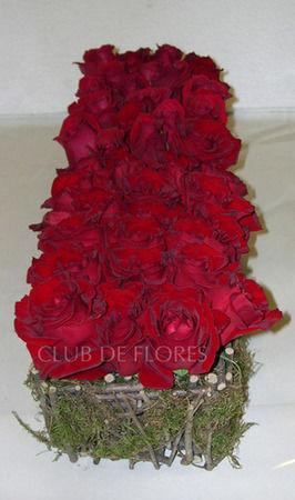 Rosas para centros de bodas