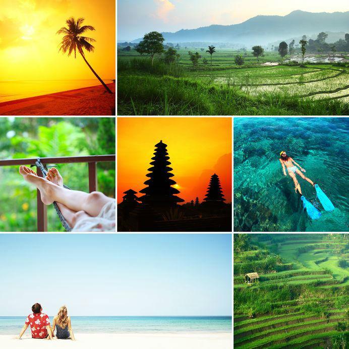 Isla de Bali - Indonesia en tus manos.