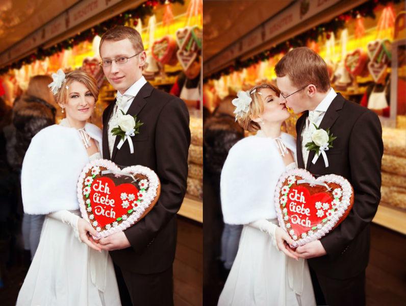 Beispiel: Hochzeitsfotos vom Profi, Foto: Julia Sikira Photography.