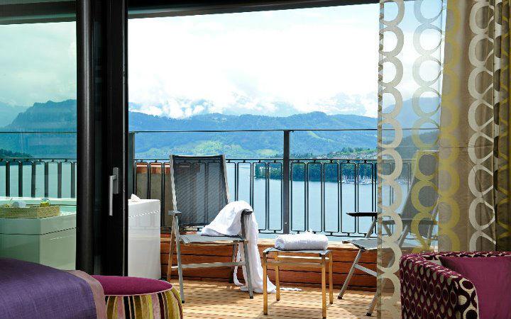 Beispiel: Ausblick vom Hotelzimmer, Foto: Art Deco Hotel Montana.