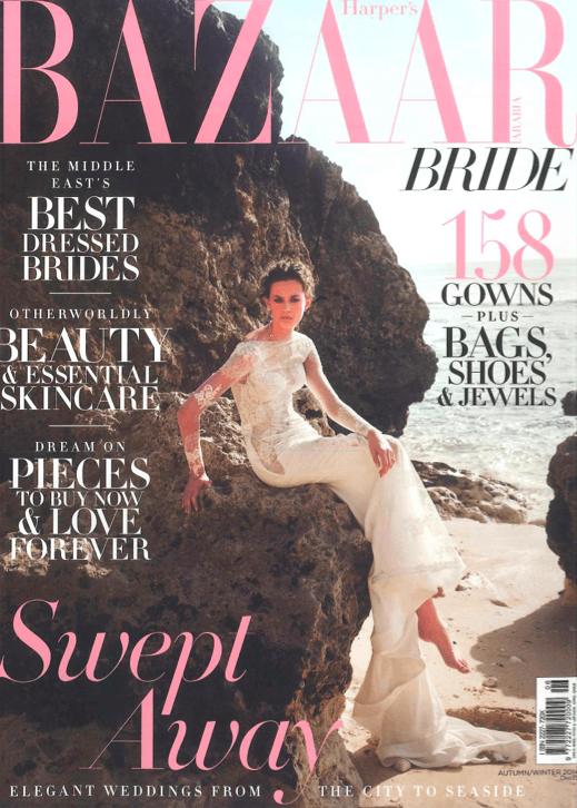 Featured in Bazaar Bride