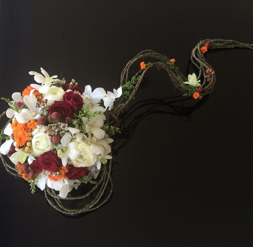 Porque não um  bouquet  rústico ?