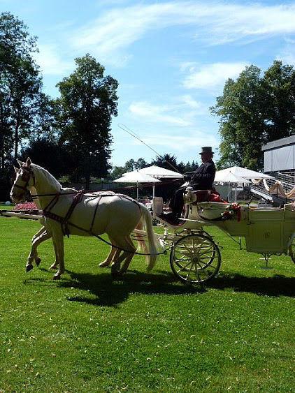 Beispiel: Hochzeitskutsche, Foto: Daniela Kainz Wedding Salzburg.