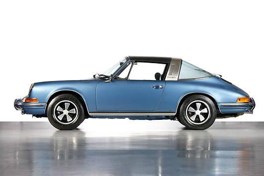 Beispiel: Ein Porsche Targa als Hochzeitsauto, Foto: Hamburger Oldtimer Verleih.