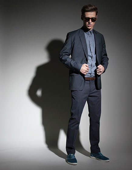 Beispiel: Festliche Mode, Foto: Stefan Steiner.
