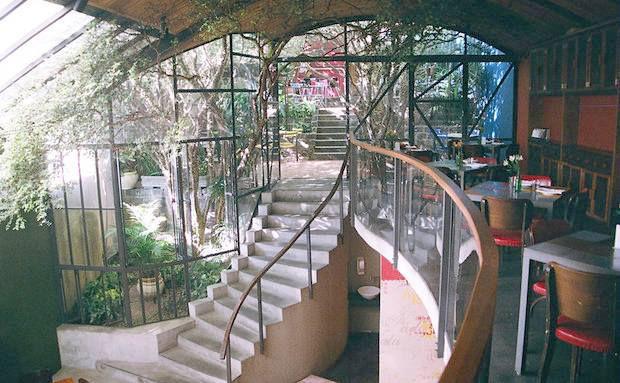 Vista do Mezzannino com Jardim das Jabuticabeiras ao fundo