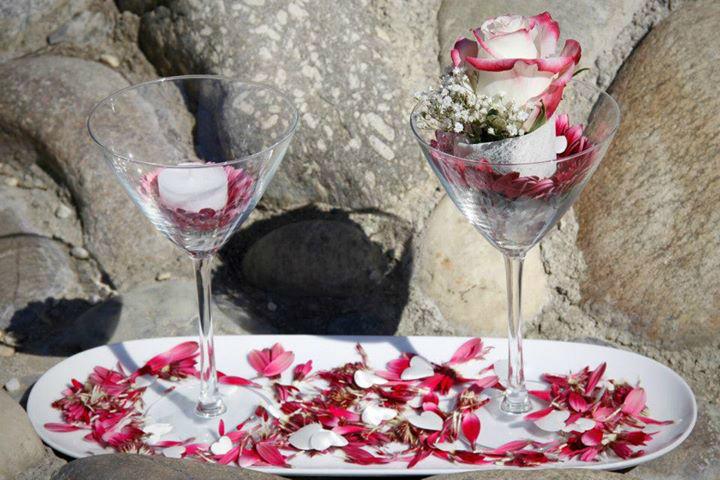 Beispiel: Blütenzauber, Foto: Event-Floristik Isabella Neumeister.