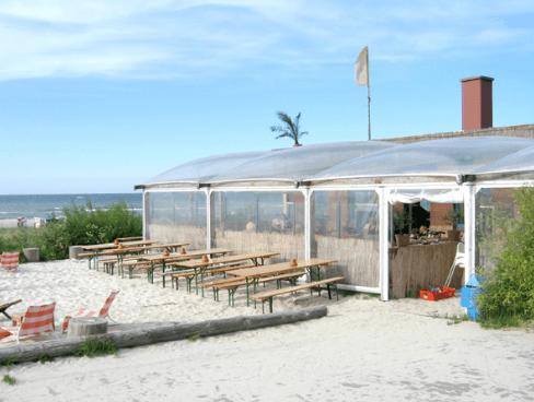 Beispiel: Strandterrasse, Foto: Strandoase Surendorf.