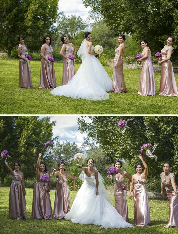 La novia y sus amigas