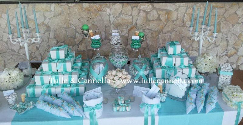 Confettata - Degustazione Confetti - Sweet table - Candele - Fiori - Wedding Cake - Dessert Table - Bomboniere - Candele - Macaron
