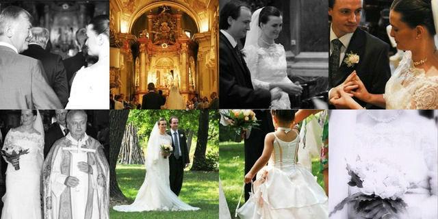 Beispiel: Ihren schönsten Tag in Bildern eingefangen, Foto: Zurich Wedding Photography.