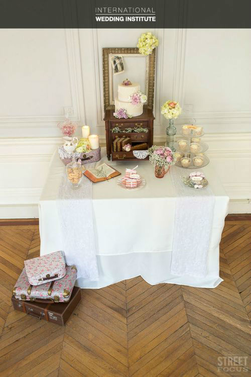 Beispiel: Candybar, Foto: International Wedding Institute.