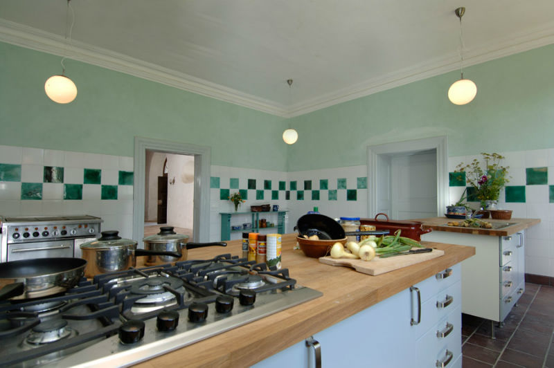 Beispiel: Küche, Foto: Schloss Schmarsow.