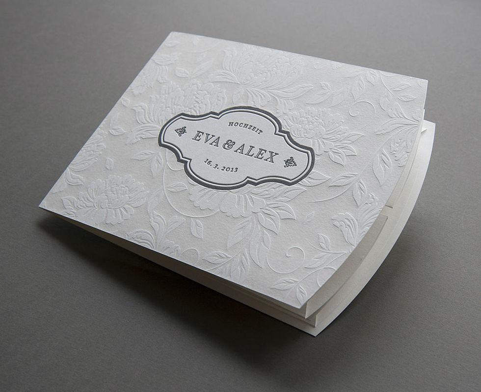 Beispiel: Wunderschöne Hochzeitskarten, Foto: Herz & Co.