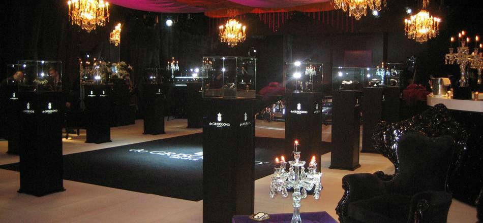 Beispiel: Exklusives Dinner, Foto: Gstaad Palace.