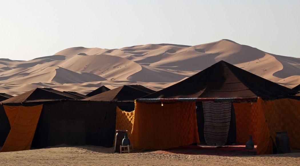 Flitterwochen in der Wüste