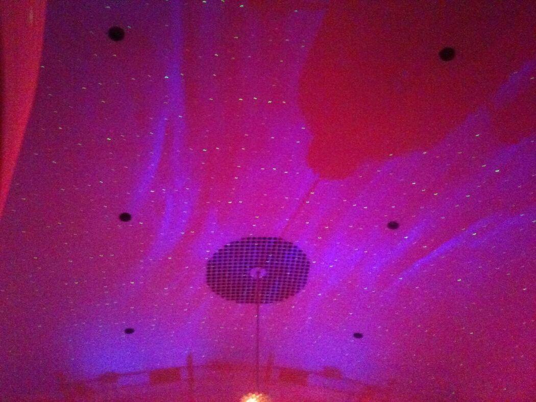 Beispiel: Deckenbeleuchtung, Foto: Profi-Hochzeitsdj.de.