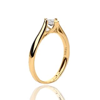 Verse Joaillerie | Alianças de Casamento, Anéis de Noivado Anel de Noivado de Diamante - EIFFEL