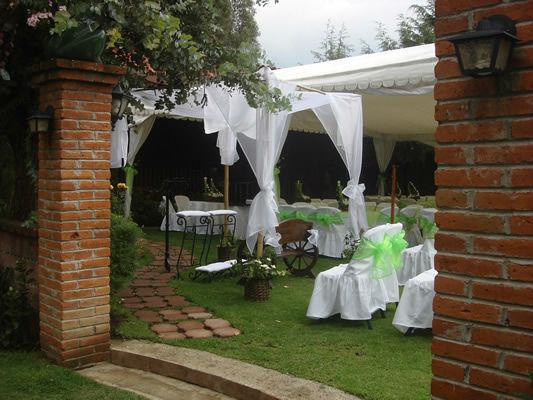 Hacienda de las Ranas. Jardines. Edo. de México.