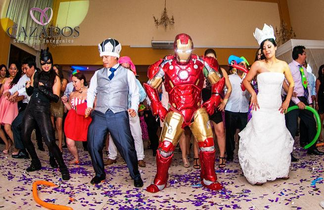 Hora Loca con super heroes