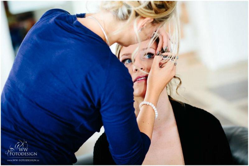 Beispiel: Fotos von den Vorbereitungen, Foto: WW Fotodesign.
