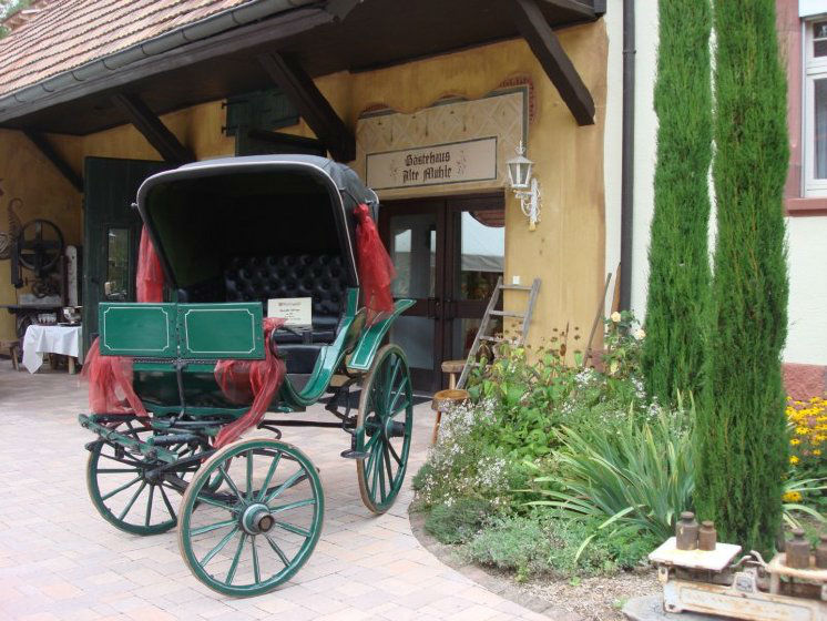 Beispiel: Doktorkutsche und Alte Mühle, Foto: Dammenmühle.