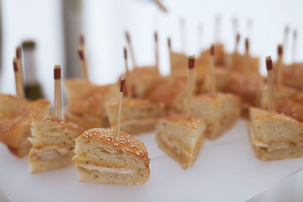 Mini chicken burger - Dans votre petite cuisine