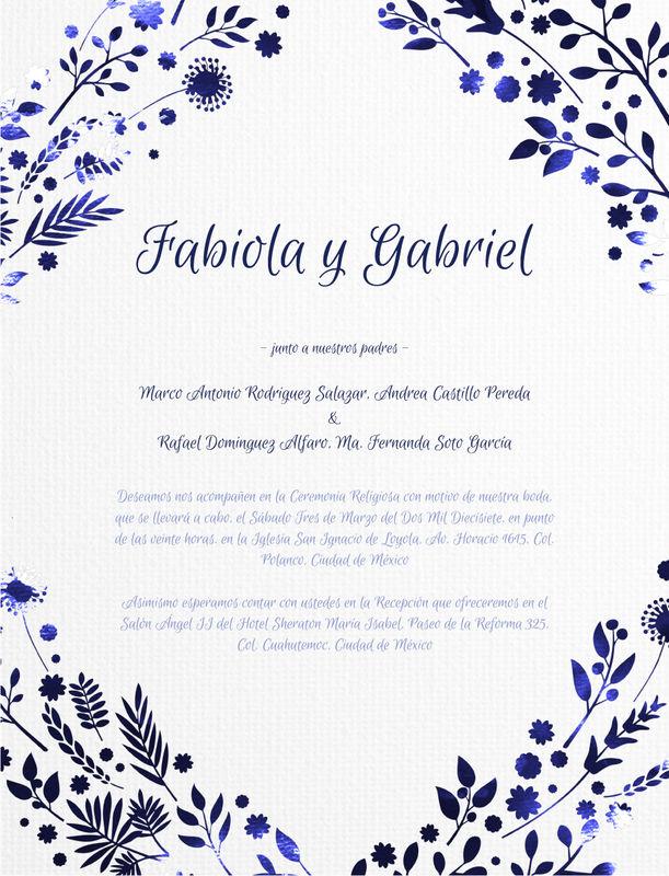 Fabiola y Gabriel