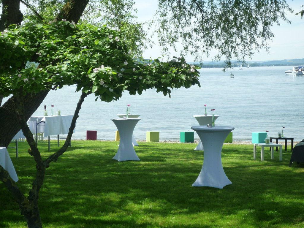 Beispiel: Uferbereich, Foto: Sekt am See.