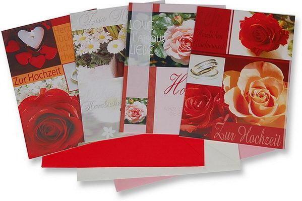 Beispiel: Einladungskarten, Foto: Baumann Floristik und Dekoration.