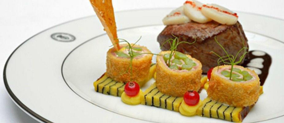Beispiel: Kulinarisches, Foto: Grandhotel Hessischer Hof.