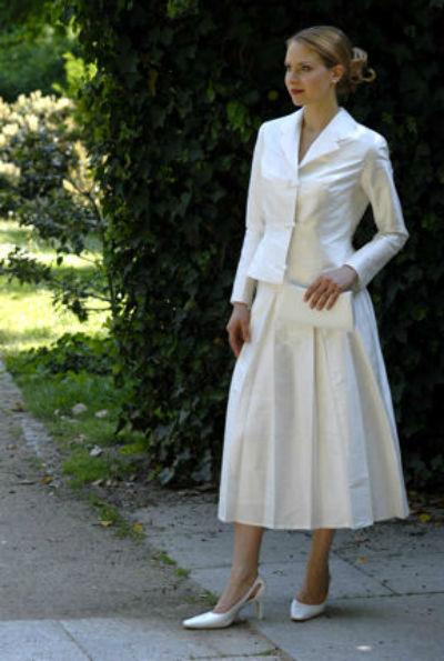 Beispiel: Brautkleid Kraemer & Routisseau, Foto: Kraemer & Routisseau.
