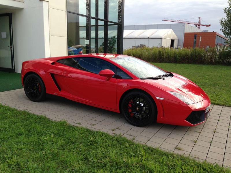Beispiel: Lamborghini Gallardo Spider, Foto: Mille Miglia Ferrari Vermietung.