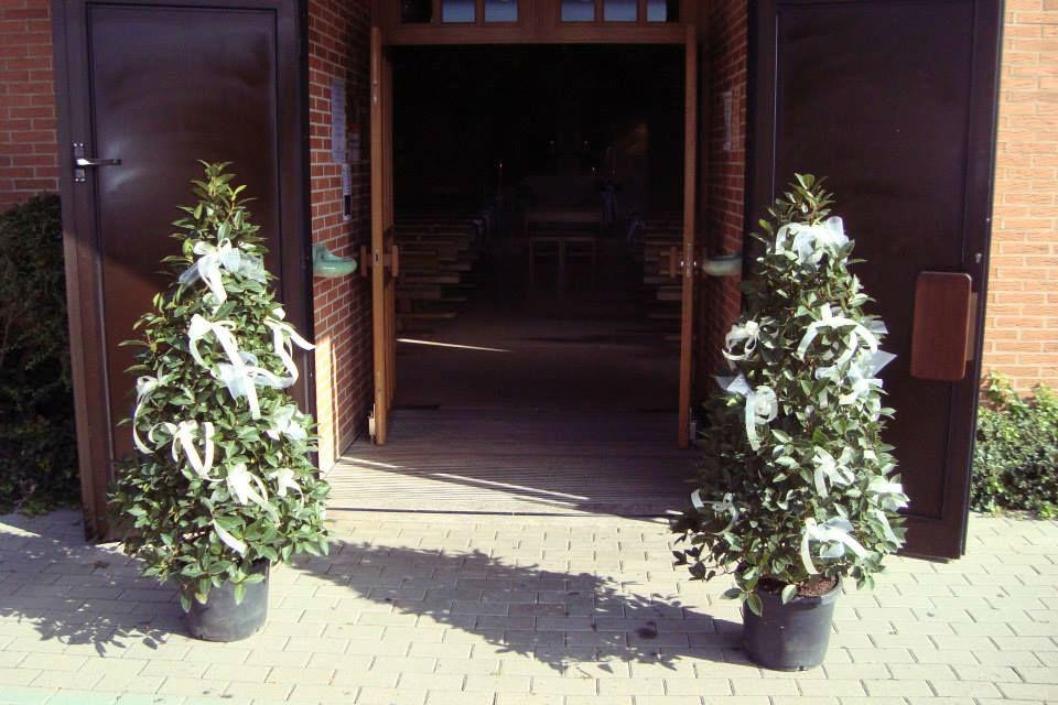 Beispiel: Kirchenschmuck, Foto: Blumenhaus Wasser.