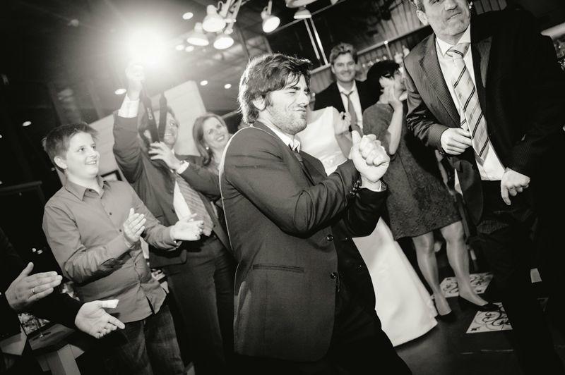 Beispiel: Hochzeitsreportage, Foto: Hochzeitsfotograf Dieter Hawlan.