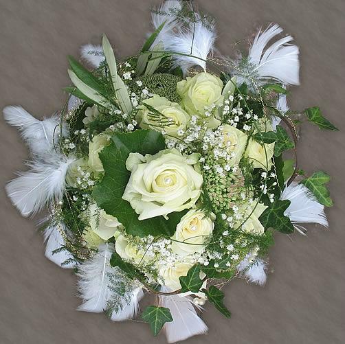 Beispiel: Einzigartige Brautsträuße, Foto: Frankfurter Blumenbote.