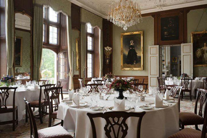 Beispiel: Festgedeck, Foto: Schlosshotel Kronberg.