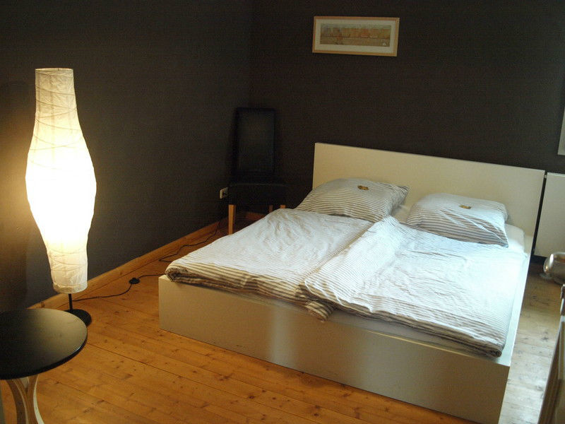 Beispiel: Hotelzimmer, Foto: Denkmalhof Schlagwitz.