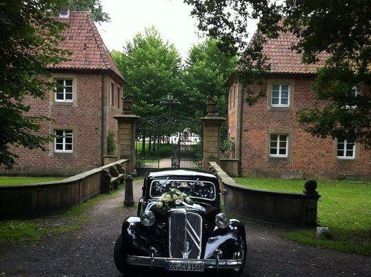 Beispiel: Hochzeitsauto, Foto: Kloster Bentlage.