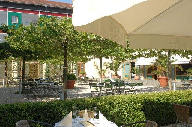 Beispiel: Biergarten, Foto: Klostergasthof Roggenburg.