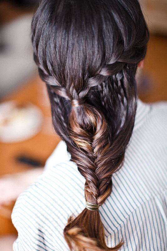 #trenzaVioleta by Marieta Hairstyle Foto Alicia Nacenta