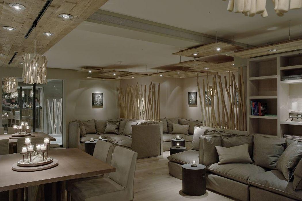 Beispiel: Lounge, Foto: Seerose Resort & Spa.