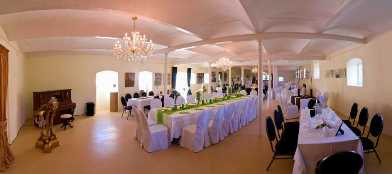 Beispiel: Saal des Gutes, Foto: Hofgut Bergerhof.